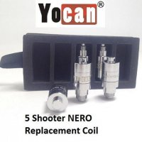 YOCAN 5 SHOOTER WAX VAPORIZER REPLACEMENT COILS