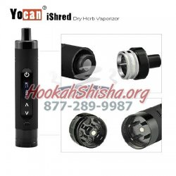 Yocan iShred Dry Herb Vape w/ Grinder Attachment