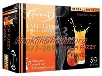 FANTASIA HERBAL Shisha PEACH FUZZY NAVEL 100% Tobacco-Free 50 gram pack