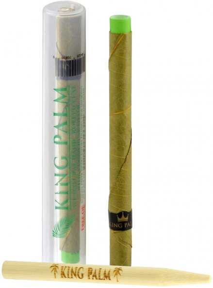 King Palm - Slim (1.5 grams) Cordia Leaf Roll in Tube