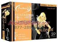 FANTASIA HERBAL Shisha DIRTY BLONDE 100% Tobacco-Free 50 gram pack