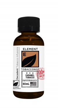 ELEMENT TOBACCONIST CARAMEL TOBACCO 60ML