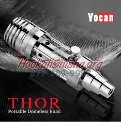 YOCAN THOR PORTABLE E-NAIL (Domeless) Wax & Concentrates