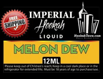 E Hookah Refill Liquid 12ml: Melon Dew