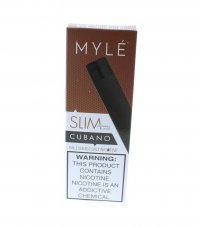 MYLE Slim Disposable Vape Pen - Cubano