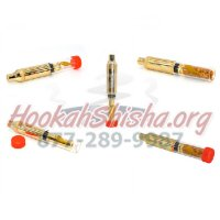 King Goldenfish Pipe Glass Blunt: Mechanical Vape for Tobacco Atman