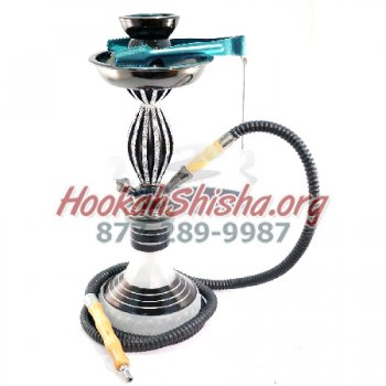 The Titan Jewel Hookah Gun Metal (Free Shipping)