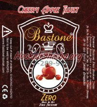 Bastone Zero Liquid: Nicotine Free : Cherry Apple Twist: 500 Puffs