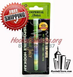 Imperial Nicotine Free Portable Hookah: Jungle Juice: 600 Puffs