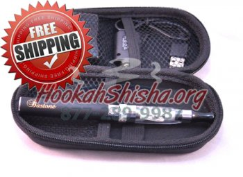 Refillable Shisha Pen: Bastone Pro Zipper Case CE5 900 MAH Battery