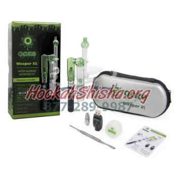 Ooze Weeper XL Water Bubbler Vaporizer Kit