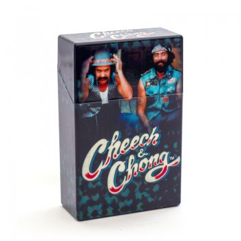 Cheech and Chong Flip Top Cigarette Case 85mm The Guys