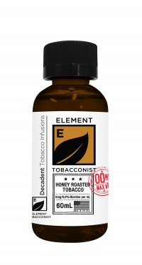 ELEMENT TOBACCONIST HONEY ROASTED TOBACCO 60ML