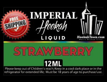 E Hookah Refill Liquid 12ml: Strawberry