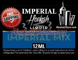 E Hookah Refill Liquid 12ml: Imperial Mix