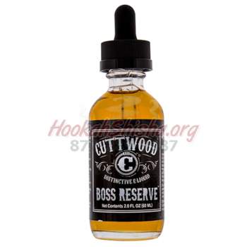 Boss Reserve E-LIQUID by Cuttwood Vapors