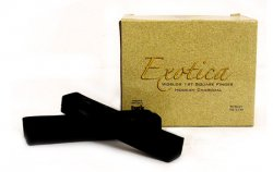 Exotica Square Finger Natural Hookah Charcoal Box