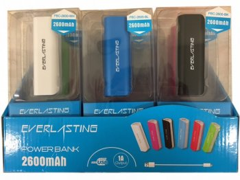 Power Bank 2600mAh Blue