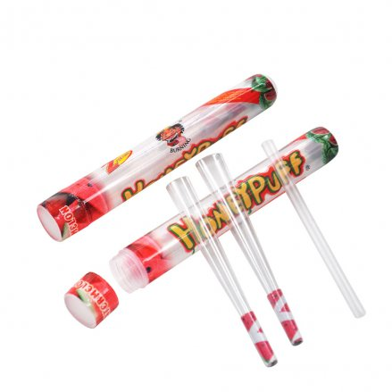 HoneyPuff Pre-Rolled Transparent Cones - Watermelon