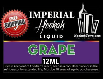 E Hookah Refill Liquid 12ml: Grape