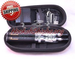Refillable Hookah Pen: Bastone Pro 2 Pack Zipper Case CE5 900 MAH Battery