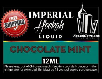 E Hookah Refill Liquid 12ml: Chocolate Mint