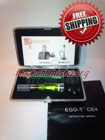 Wholesale Rechargeable Refillable Hookah Stick With Charger + Case
