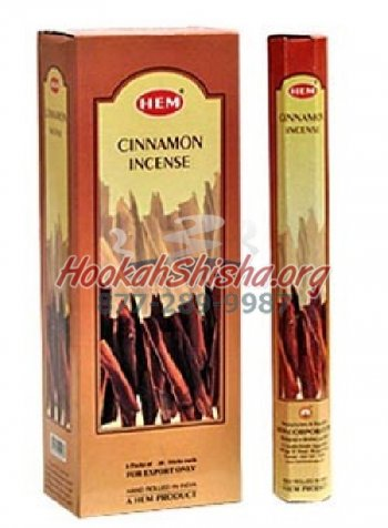Cinnamon Incense: Hem: 20 Sticks
