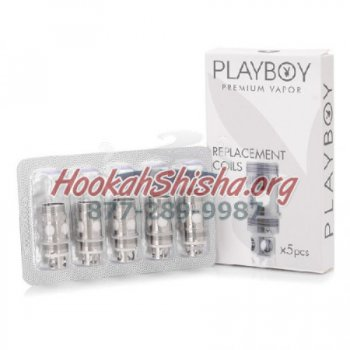 PLAYBOY PREMIUM COIL 0.3 OHM CAPTAIN TC TEMPERATURE CONTROL: 5 PACK