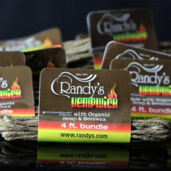 Randy's Small 4′ Bundle of Hemp Wick