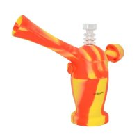 Nereus W10 Silicone Bubbler with Water Filtration