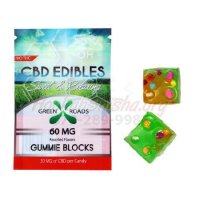 CBD GUMMIES: 60MG GUMMIE BLOCKS by GREEN ROADS