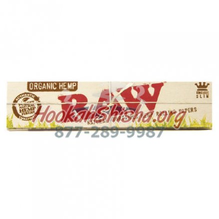 RAW ORGANIC HEMP KING SIZE CONES ROLLING PAPERS 32 CONES PER PAC