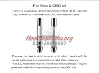 Yocan Hive Vape Replacement Tank Atomizer Coil : Concentrate Oil Ejuice Liquid