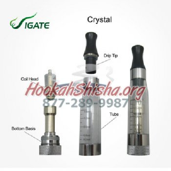 ego CE5 Clearmoizer with Changeable Atomizer Heads: Hookah Pens
