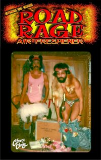 Road Rage Auto Air Freshener - Cheech & Chong - Ballerina