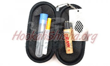 Bastone Travel Kit: Ceramic Quartz Baj Tobacco Taster Travel Kit