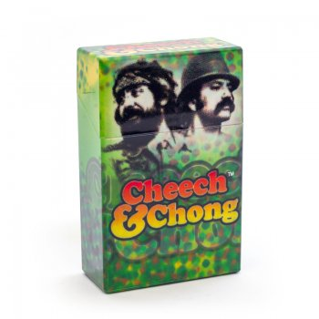 Cheech and Chong Flip Top Cigarette Case 85mm Reflections