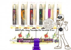 Bastone Disposable E-Hookah - 0.6% (6mg) Nicotine: Strawberry Flavor