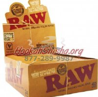 RAW KING SIZE SUPREME CLASSIC CIGARETTE ROLLING PAPERS, 40 LEAVES