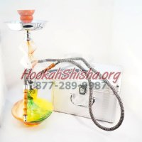 The Jelly Bean Hookah Green, Yellow, & Orange
