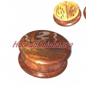 Wooden Tobacco Grinder Small