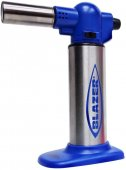 Blazer Big Buddy Turbo Torch Blue & Stainless Steel