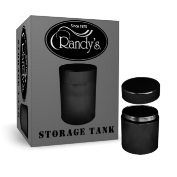 45mm Black High-Quality Aluminum Tank Perfect for Storing Stuff Extremely Durable