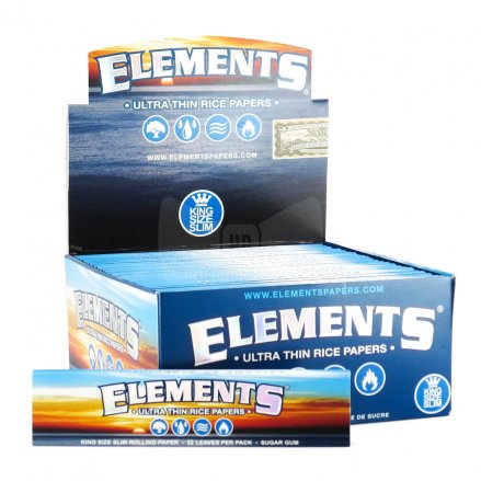 Elements Ultra Thin King Size Slim Rolling Papers - 5 Pack Amazon