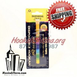 Imperial Portable Nicotine Free Hookah Stick : Melon Dew Rush: 600 Puffs