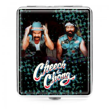 Cheech and Chong Deluxe Cigarette case 100mm 2 inch The guys
