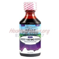 CBD DAYTIME SYRUP (RELAX): 100MG CBD 4oz Bottle: GRAPE FLAVOR