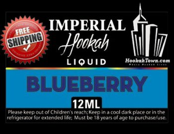 E Hookah Refill Liquid 12ml: Blueberry