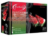 FANTASIA HERBAL Shisha RED MELON 100% Tobacco-Free 50 gram pack